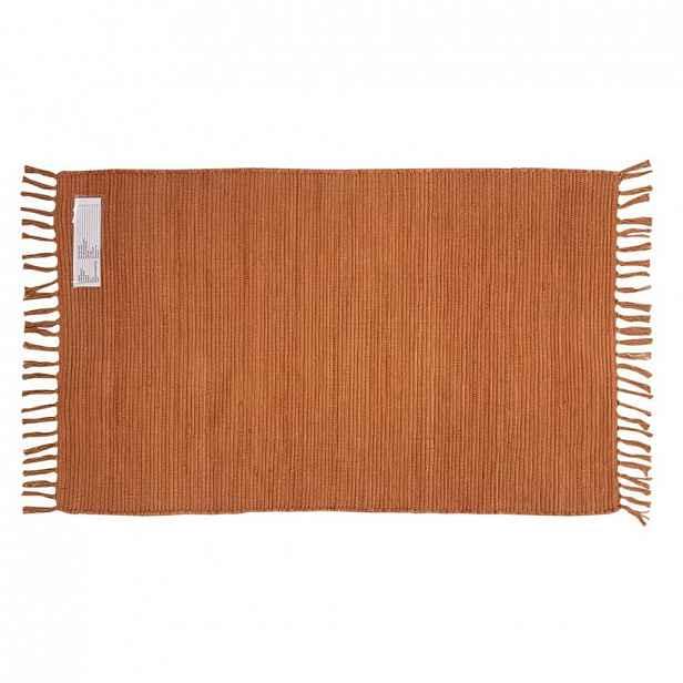 Ručně tkaný hadrový koberec Julia, 70/130cm