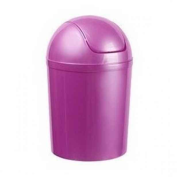 Aldo Odpadkový koš SWING TOP 15 l, fialová