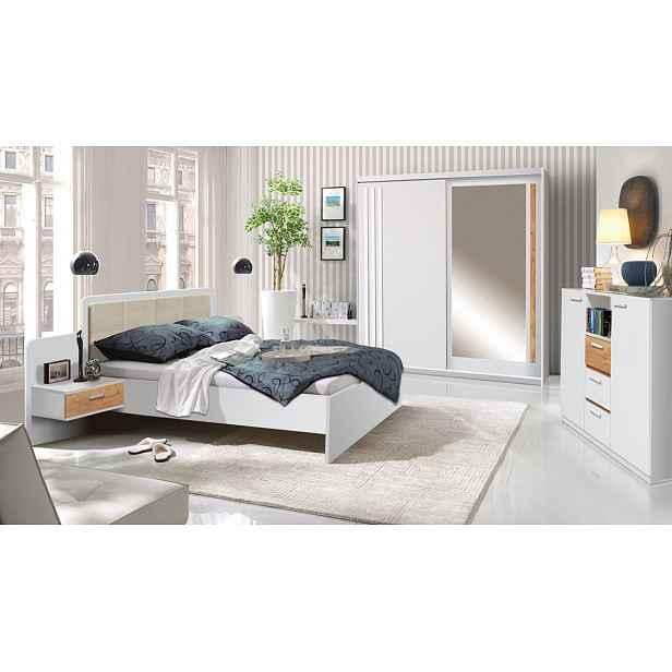 Moderní ložnice Efka, borovice andersen