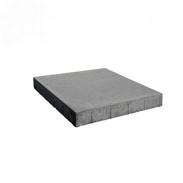 Betonová dlažba hladká,  přírodní 40×400×400 mm