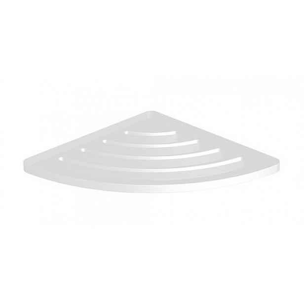 Rohová polička Swiss Aqua Technologies X-Way bílá SATDXWPOLR21B