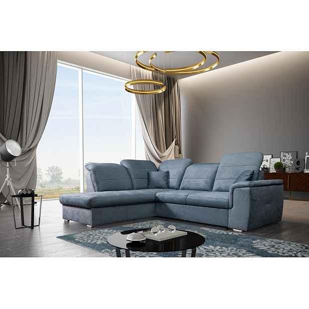 Moderní sedací souprava Vitese, modrá HELCEL