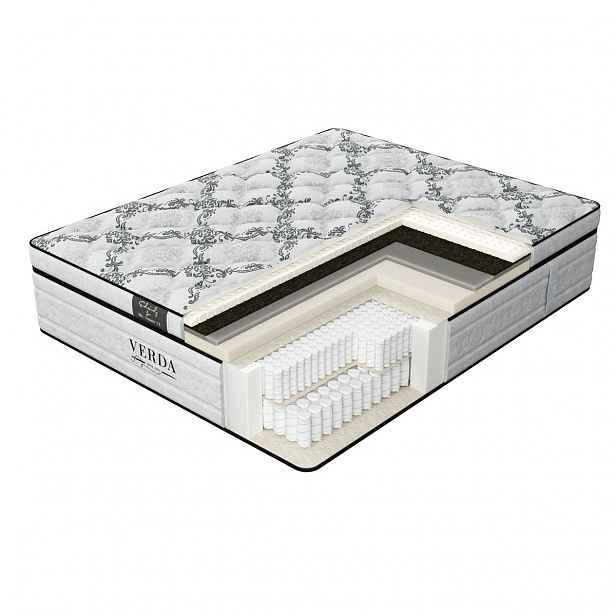 Verda Hi-Balance 200 x 200 cm Silver lace elegantní matrace