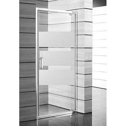 Sprchové dveře 90x190 cm Jika Lyra plus bílá H2543820006651