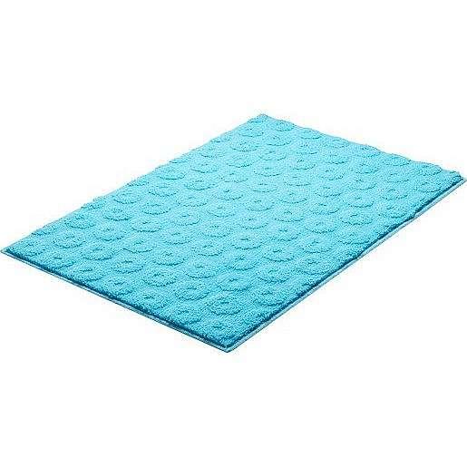 Koupelnová předložka Grund Lisa 90x60 cm modrá SIKODGLIS605