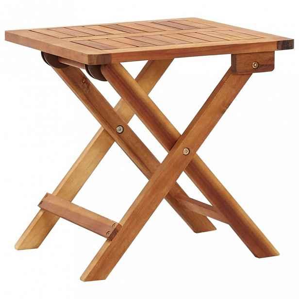 Skládací zahradní stolek akácie