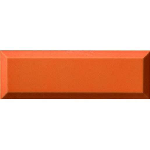 Obklad Ribesalbes Chic Colors naranja bisel 10x30 cm lesk CHICC1470