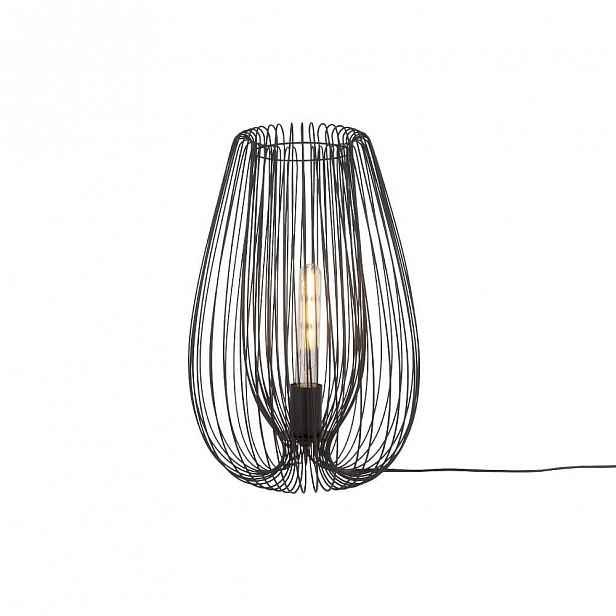 Černá stolní lampa Leitmotiv Lucid Large