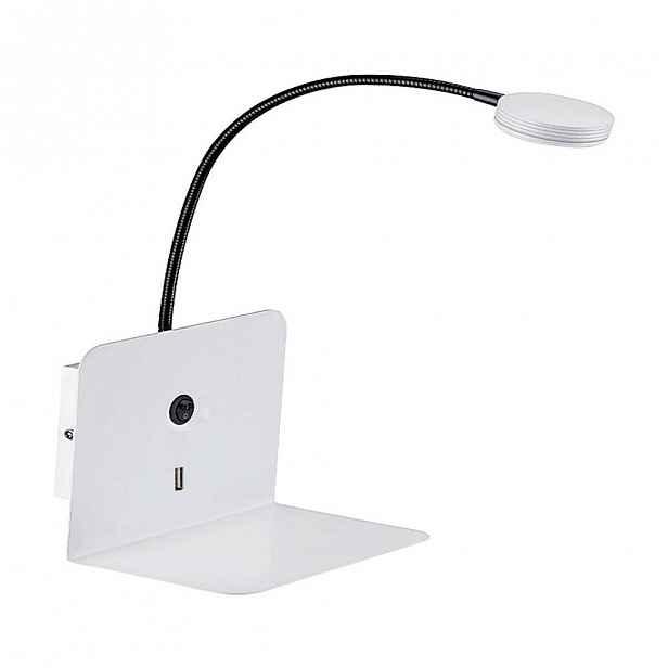 Nástěnné svítidlo s USB portem SULION Malvo