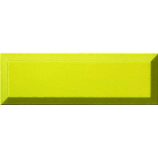 Obklad Ribesalbes Chic Colors limon bisel 10x30 cm lesk CHICC1466