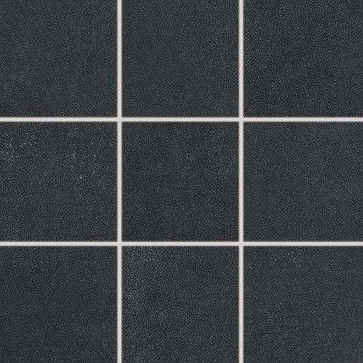 Dlažba Rako Trend černá 10x10 cm mat DAK12685.1