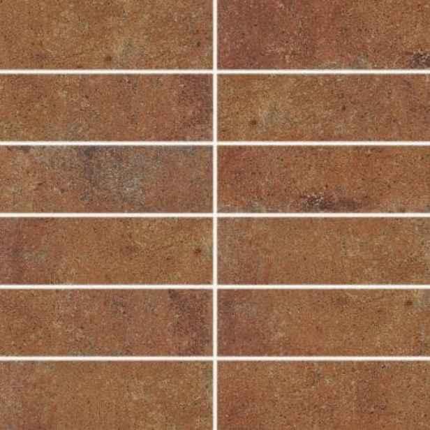Dekor RAKO Siena červeno hnědá 45x45 cm mat DDP4H665.1