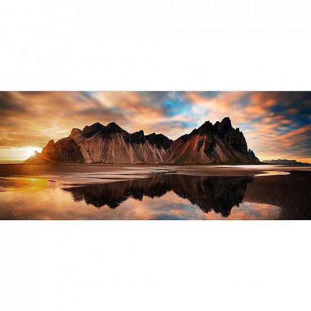 Monee Obraz Na Skle, Krajina & Příroda, 125/50 Cm, - Skleněné obrazy - 0050900118