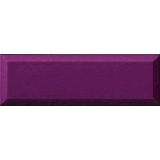 Obklad Ribesalbes Chic Colors malva bisel 10x30 cm lesk CHICC1465