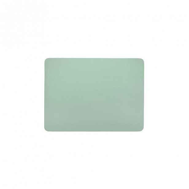 Zelené prostírání z imitace kůže ZicZac Togo,33x45cm
