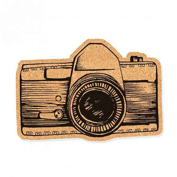 Korková dekorativní nástěnka Really Nice Things Camera