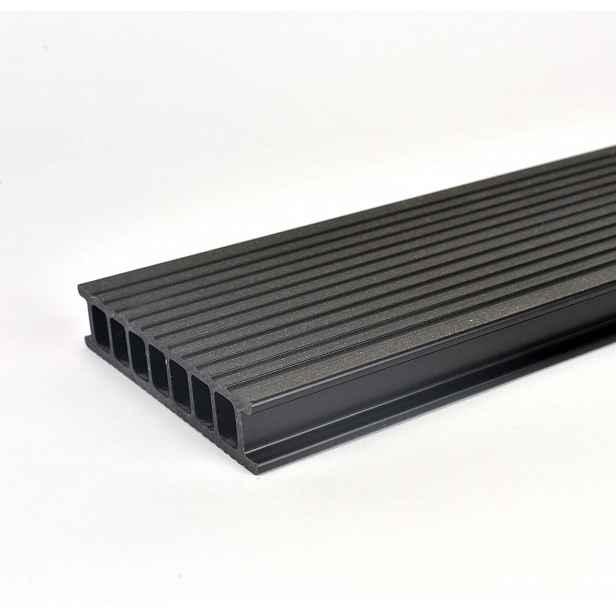 Prkno terasové dřevoplastové Twinson Terrace odstín lékořice 140x28×4000 mm