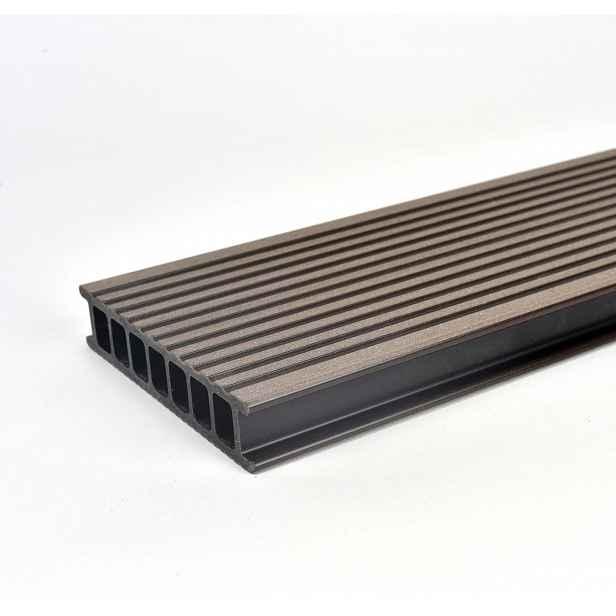 Prkno terasové dřevoplastové Twinson Terrace odstín kůra 140x28×6000 mm