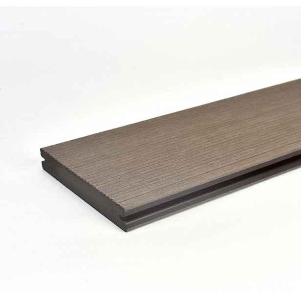 Prkno terasové dřevoplastové Twinson Massive odstín kůra140x20×6000 mm
