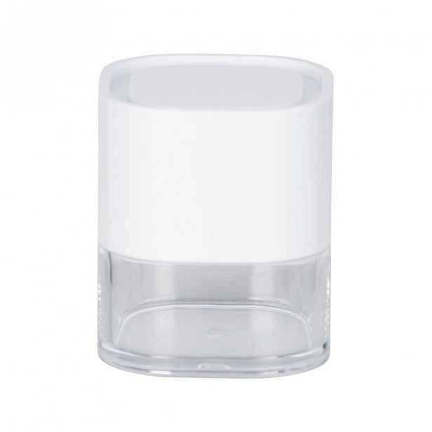 Bílý úložný box Wenko Oria