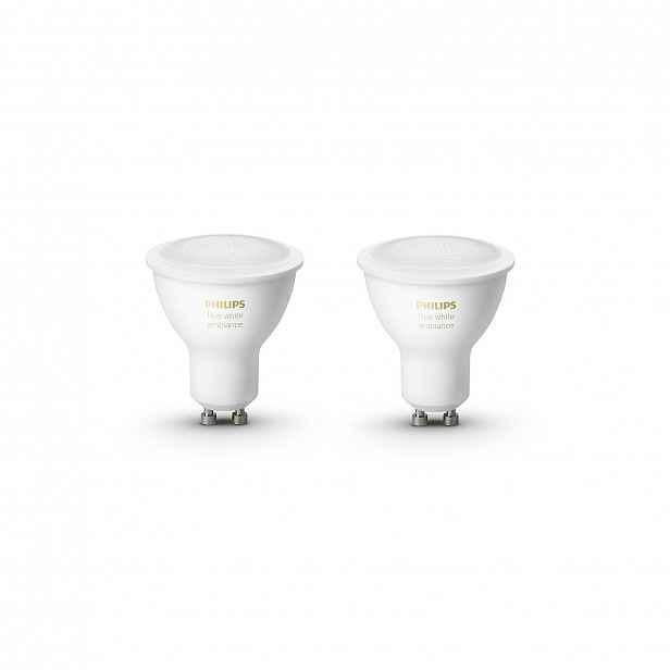 Sada LED žárovek Philips Hue white ambiance 2×GU10