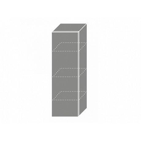 PLATINUM, skříňka horní W4 30, korpus: bílý, barva: black