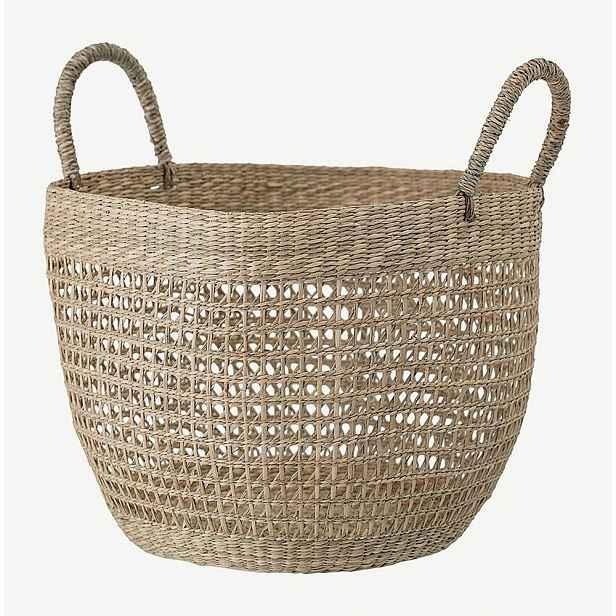 Úložný košík z mořské trávy Bloomingville Dago