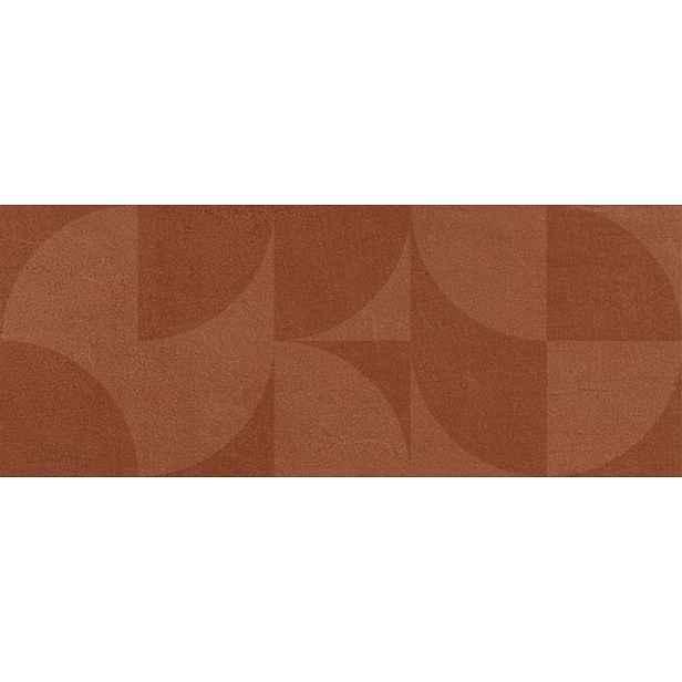 Obklad Del Conca Espressione rosso luna 20x50 cm mat 54ES06LU
