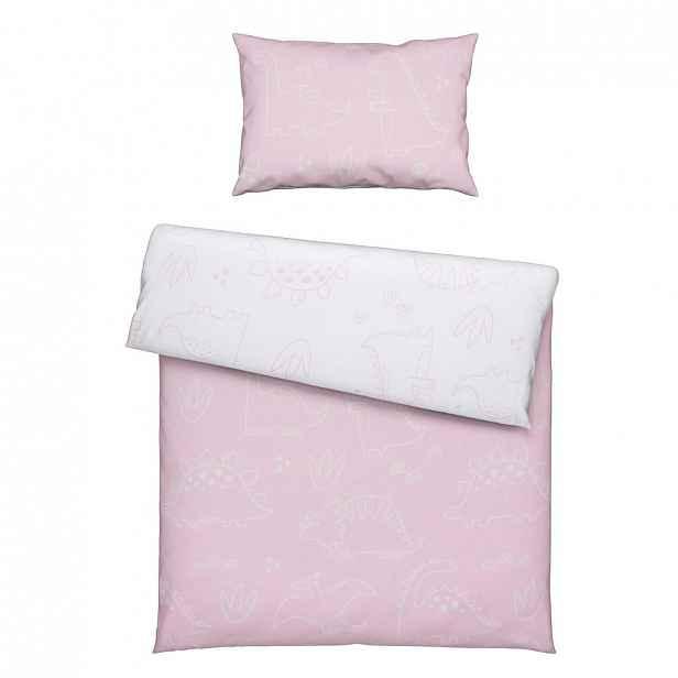 XXXLutz POVLEČENÍ PRO MIMINKO, 100/135 cm, růžová Avelia - Povlečení & prostěradla pro miminka - 005050007901