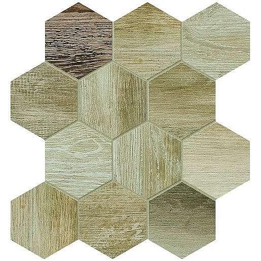 Dlažba Dom Barn Wood beige 35x37,5 cm mat DBWEM20