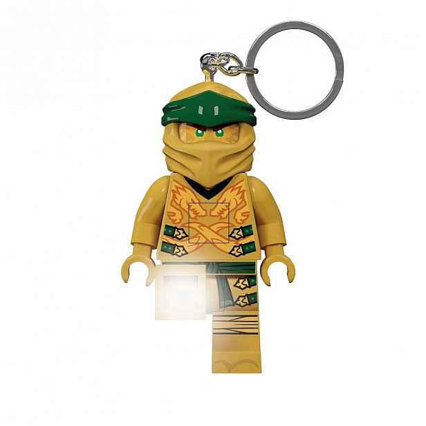 Svítící klíčenka LEGO® Ninjago Legacy Gold Ninja