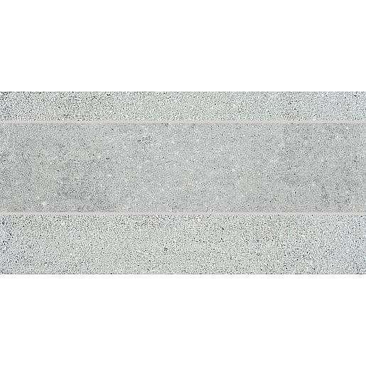 Dekor Rako Cemento šedá 30x60 cm mat DDPSE661.1