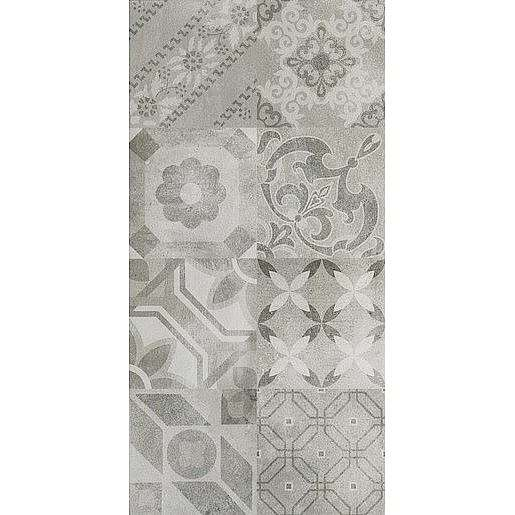 Dekor Dom Entropia silver 30x60 cm mat DUT34MDR