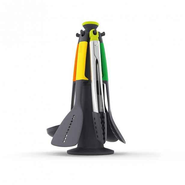 Sada 6 kuchyňských nástrojů se stojanem Joseph Joseph Elevate Colour