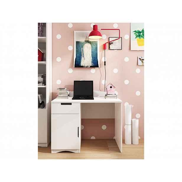 Psací stůl CLASSIC 1, bílá - CLASSIC 1 Desk