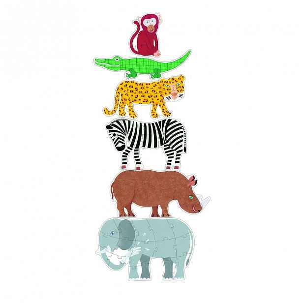 Dětské puzzle Djeco Giga Jungle